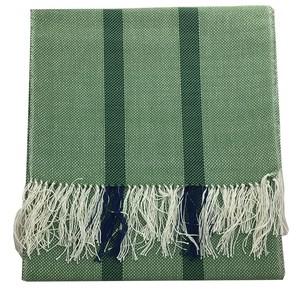 小さい姉妹の手織りマフラー(グリーン)/フランス 子羊の弟子 小さい姉妹会