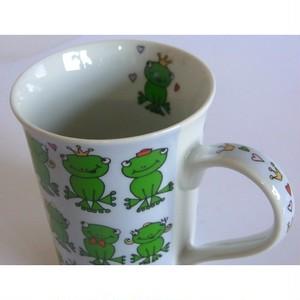 カエルマグカップ フロッグスブルー cm-fb1302