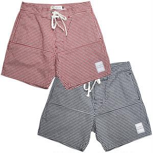 edit clothing ギンガムチェック shorts