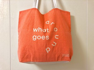 【what goes around】tote bag / エコバッグ
