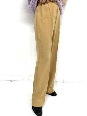 poly easy flare pants / 2SSPT23-04
