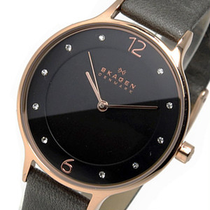 スカーゲン SKAGEN  クオーツ レディース 腕時計 SKW2267 グレー グレー