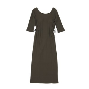 side squeeze rib dress
