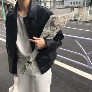 マットレザージャケット
