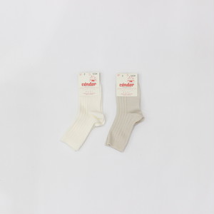 Condor RIBBED COTTON SHORT SOCKS    0 2size