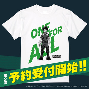 「PLUS ULTRA スマッシュカンサイ」オリジナルTシャツ 緑谷出久