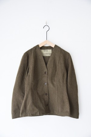 【MILITARY】FRENCH 50's WOOL LINER JACKET