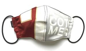 【デザイナーズマスク 吸水速乾COOLMAX使用 日本製】COTEMER SPORTS MIX MASK CTMR 1019003
