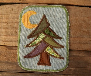 Hand made Patch  (Tree)
