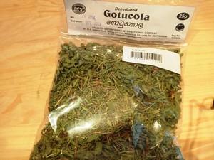 乾燥ゴトゥコラ25g Dry Gotukala