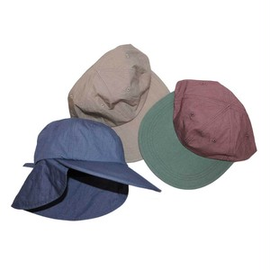 """ NOROLL "" AWING CAP  (BEIGE , BLUE , PINK)"