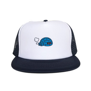 "KIOSCO x ADOOM "" igloo ""meshcap NAVY"