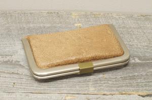 熊革カードケース cocoro-01B