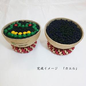 【花火づくり体験】4号型物「カエル」模型玉製作キット+おもちゃ花火セット 【自由研究に】