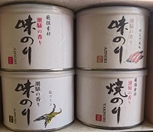 風味のり アソートギフト4缶セット
