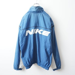90s NIKE blue nylon-jacket 2000