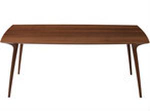 Calm ダイニングテーブル ウォールナット材  210cm