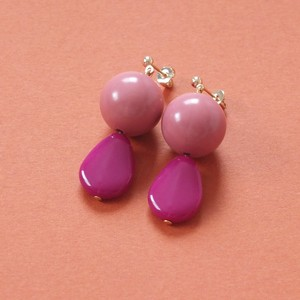 ball × drop pierce(pink)