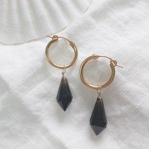 Midnight Smoke Earrings