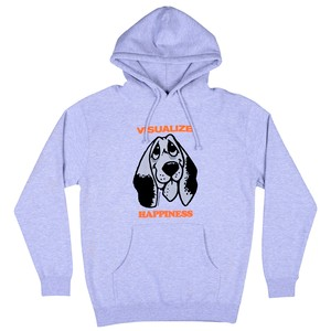 QUASI HAPPINESS HOODIE HEATHR GRAY