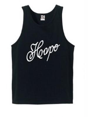 HOPE タンクトップ (ブラック×ホワイト)