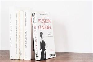 LA PASSION DE CLAUDEL -5set- /display book