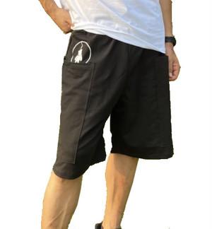 【SKANDHAL】TASCA ハーフパンツ【ブラック】【新作】イタリアンウェア【送料無料】《M&W》