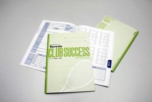 テニス/練習・試合編 CLUB SUCCESS® ノート