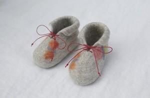 ■受注商品■【Felt Baby Shoes】ベビーシューズ