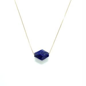Holey stone Necklace Lapis lazuli - K18YG