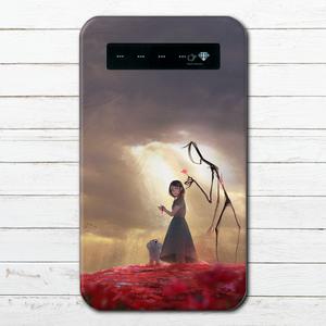 #065-002 モバイルバッテリー ファンタジー おしゃれ かわいい エモい イラスト iphone スマホ 充電器 タイトル:dear 作:アナ