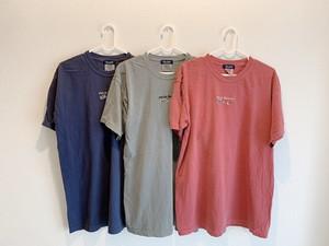 刺繍Tシャツ(バーガンディ)
