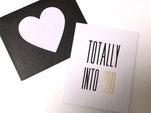 Kikki.K /【TOTALLY INTO YOU】メッセージカード (多目的用)