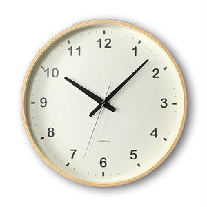 KATOMOKU plywood wall clock km-33L