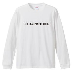 """""""NOISE"""" long sleeve T-shirts(White/Black)"""