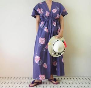 OKINAWA KAFTAN -浴衣地を使ったカフタンドレス 限定2枚!