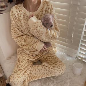【送料無料】レオパード♡ルームウェア♡パジャマ♡