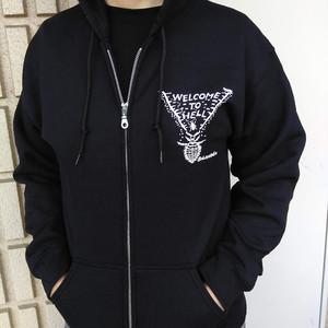 アリジゴクパーカー (Ant lion zip up hoodie)