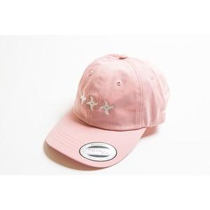 手裏剣CAP(ライトピンク)