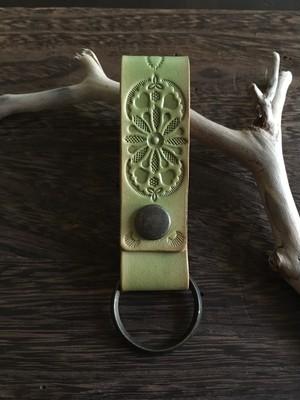 mandala key ring