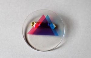 【幾何学バッジ】三角