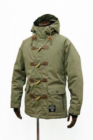 Flutter Duffle Coat / Olive
