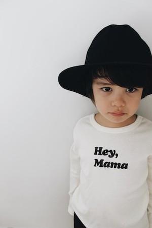 Kids Black logo Long Sleeve T-shirts