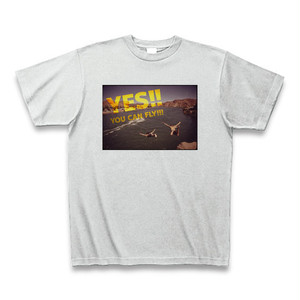 「YES!! YOU CAN FLY!!!」映画ピンポン名言Tシャツ