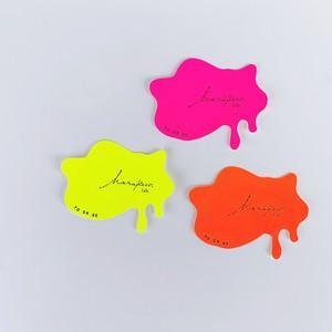 【こうぶつヲカシと同梱購入/予約】ハラペコラボオリジナルステッカー YODARE 3枚組