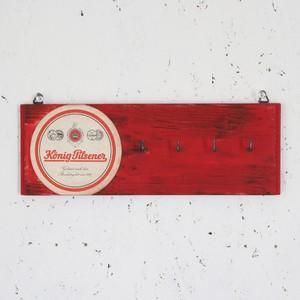 ヴィンテージコースターの壁掛けフック #09