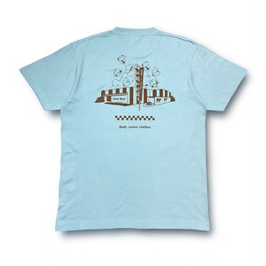 POP  CORN  T-Shirts ( Choco Blue )