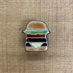 ハンバーガー(帯留・ブローチ)
