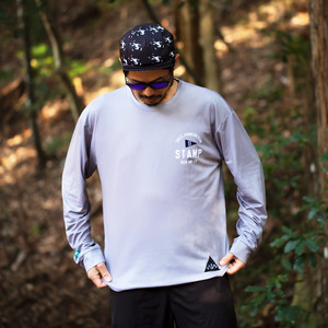 STAMP LONG SLEEVE TEE (STAMP Trail Running Club)