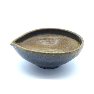 穴窯 薪窯焼締 酒器 片口 B-0010
